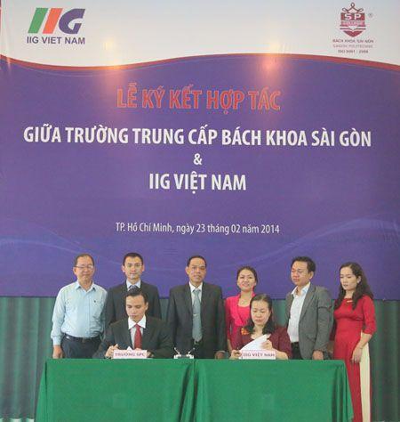 Hợp đồng đào tạo nguồn nhân lực giữa L&A với Bách Khoa Sài Gòn