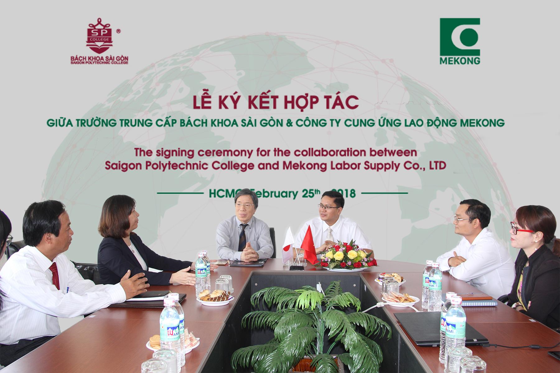 lễ ký kết hợp tác xuất khẩu lao động