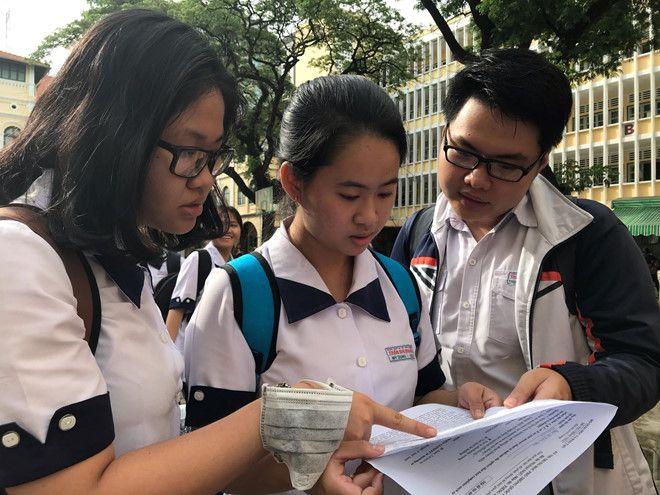 Dự kiến ngày 12.7 công bố kết quả thi THPT quốc gia