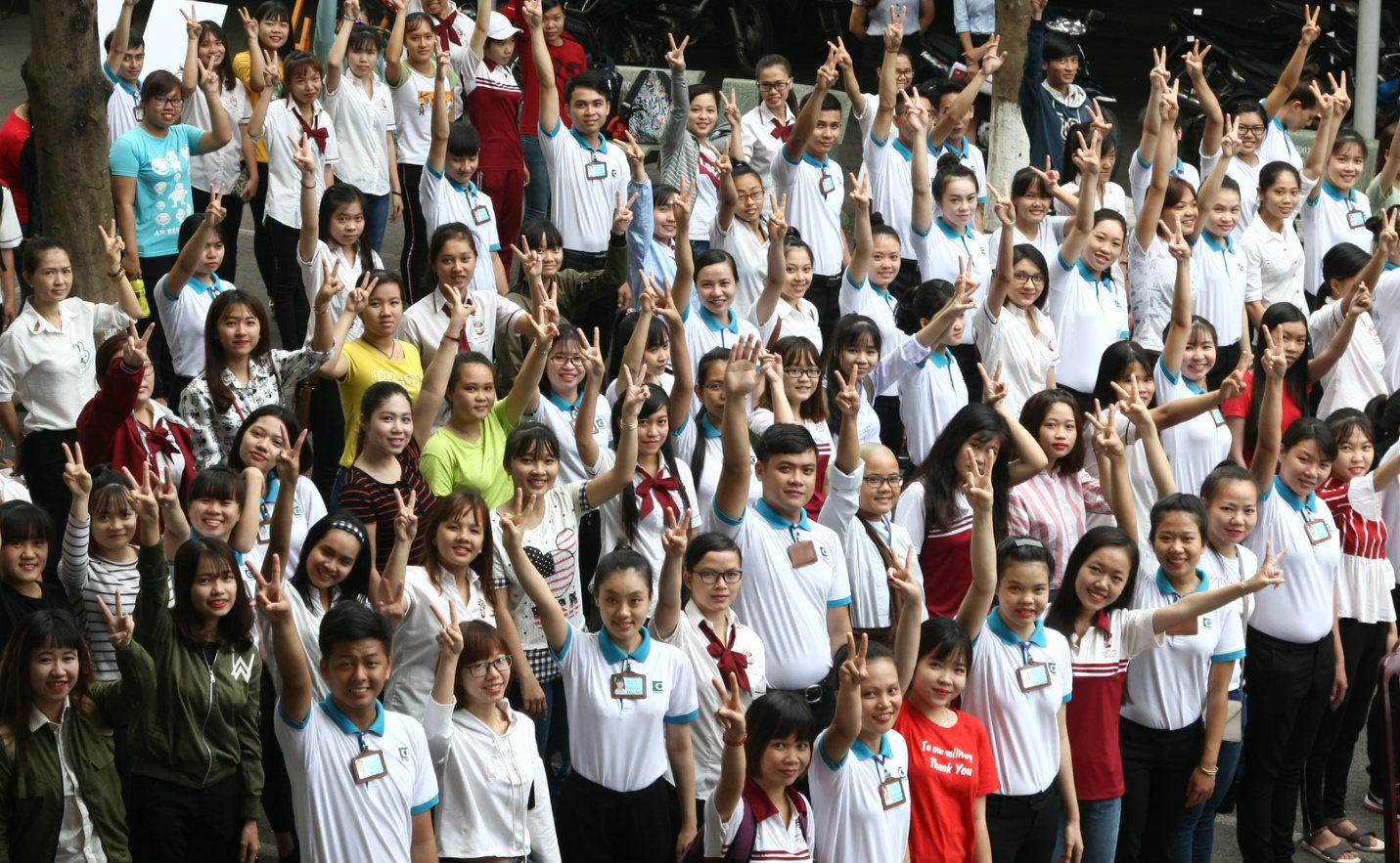 giao lưu văn hóa Việt Nhật tại Bách Khoa Sài Gòn 1