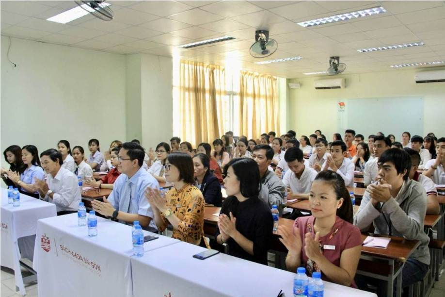 Trường Trung cấp Bách Khoa Sài Gòn Khai giảng đợt 5 khóa 11 năm 2018