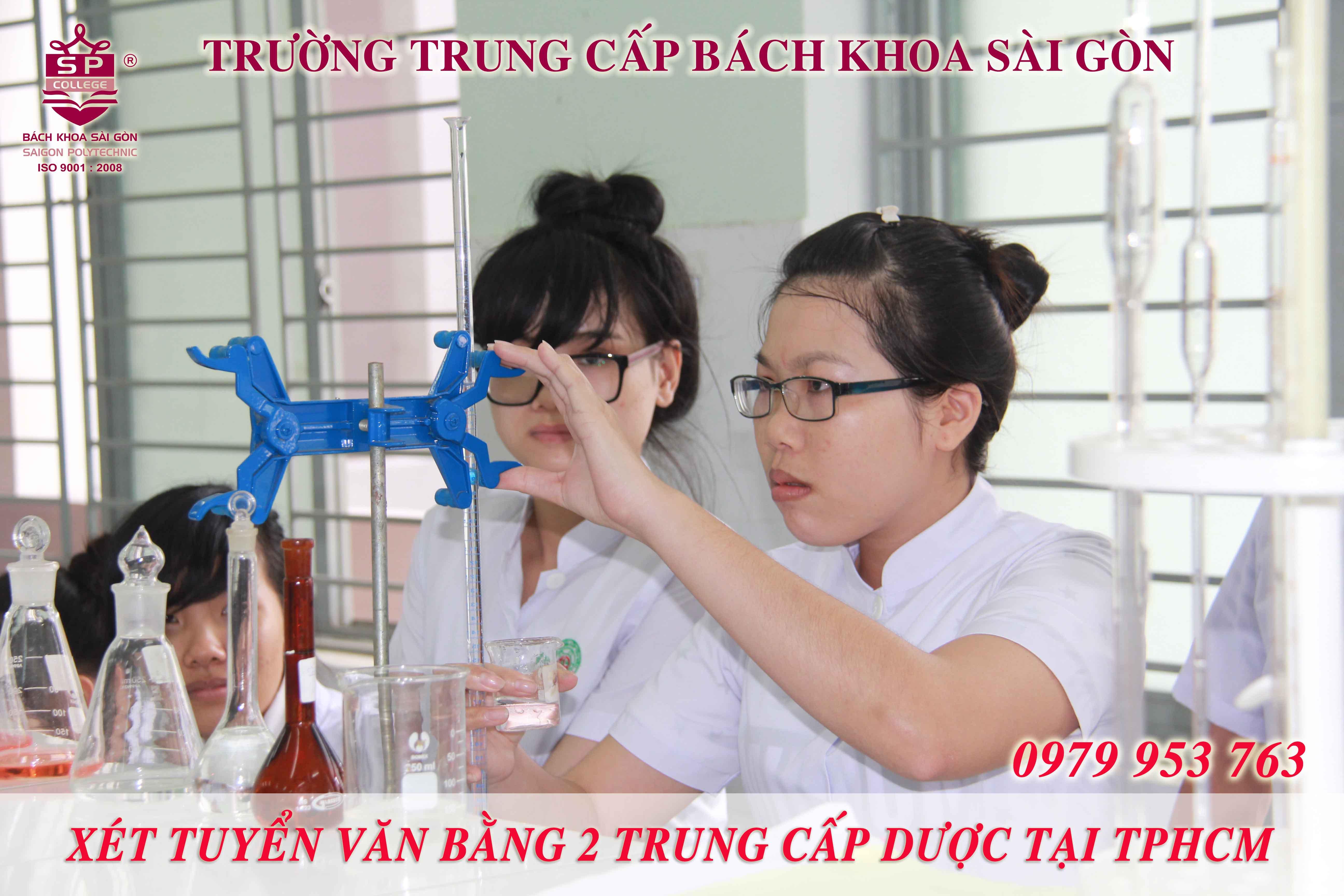 Trượt tốt nghiệp TPHCM vẫn được xét tuyển Trung cấp Dược tại TPHCM