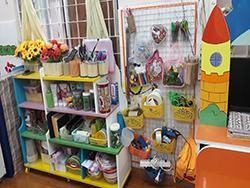 đồ chơi của các bé trường mầm non
