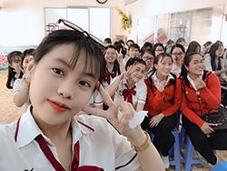 Một ngày tập làm cô giáo mầm non của sinh viên ngành sư phạm