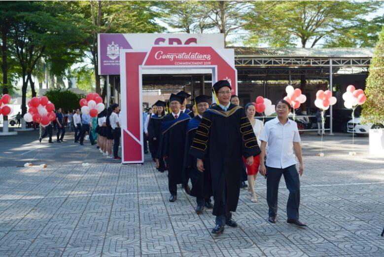 Lễ tốt nghiệp năm học 2019