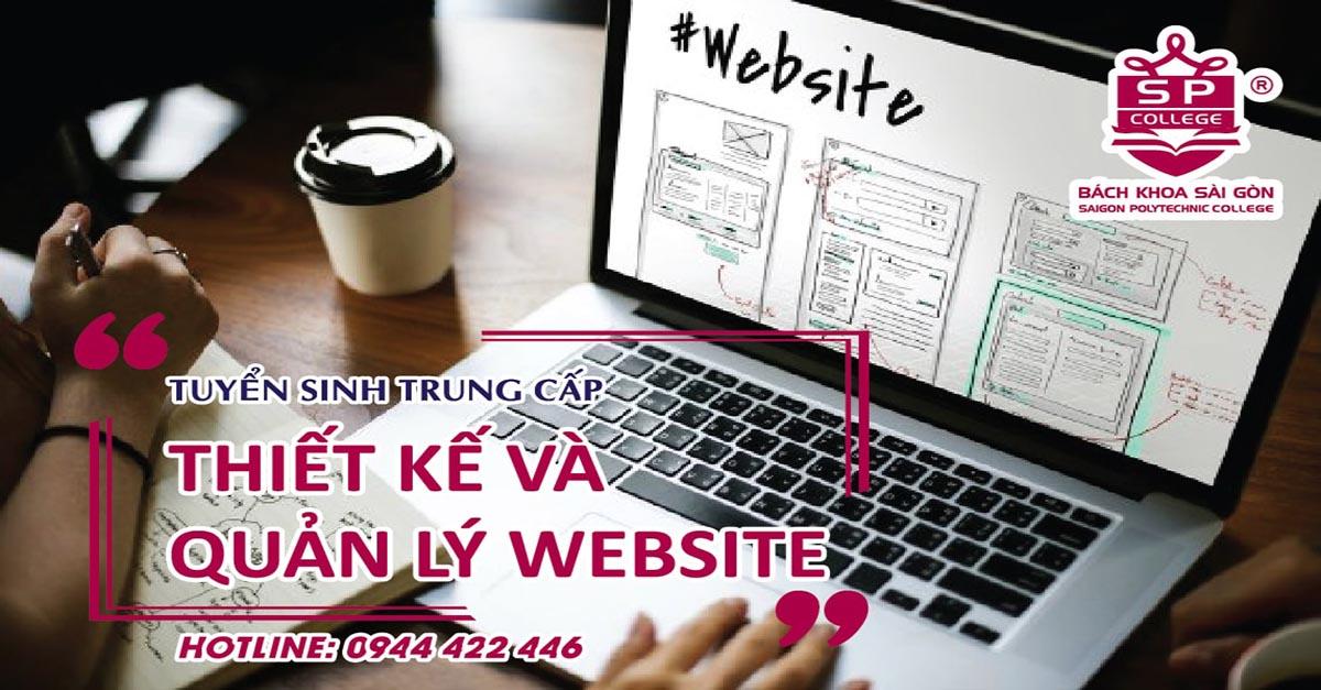 Ngành thiết kế và quản lý website