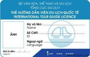 thủ tục cấp thẻ hướng dẫn viên du lịch