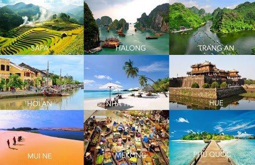 thắng cảnh ngành du lịch việt nam