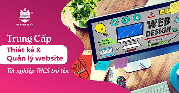 Chương trình học: Ngành thiết kế và quản lý website