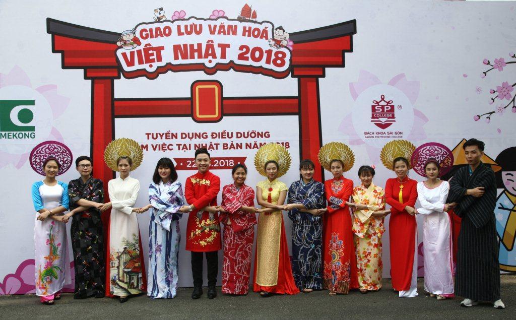 giao lưu văn hóa Việt Nam - Nhật Bản tại bách khoa sài gòn