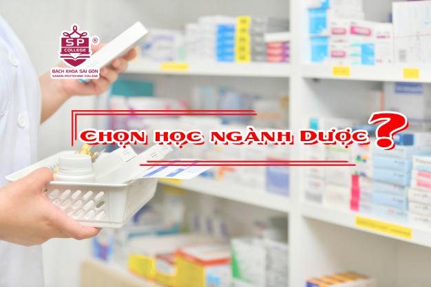 giải mã lý do chọn ngành dược