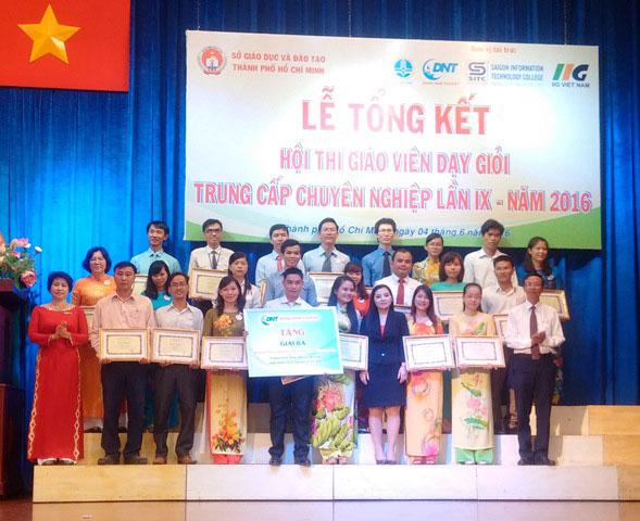 Lễ tổng kết Hội thi GVDG TCCN cấp Thành phố năm 2016