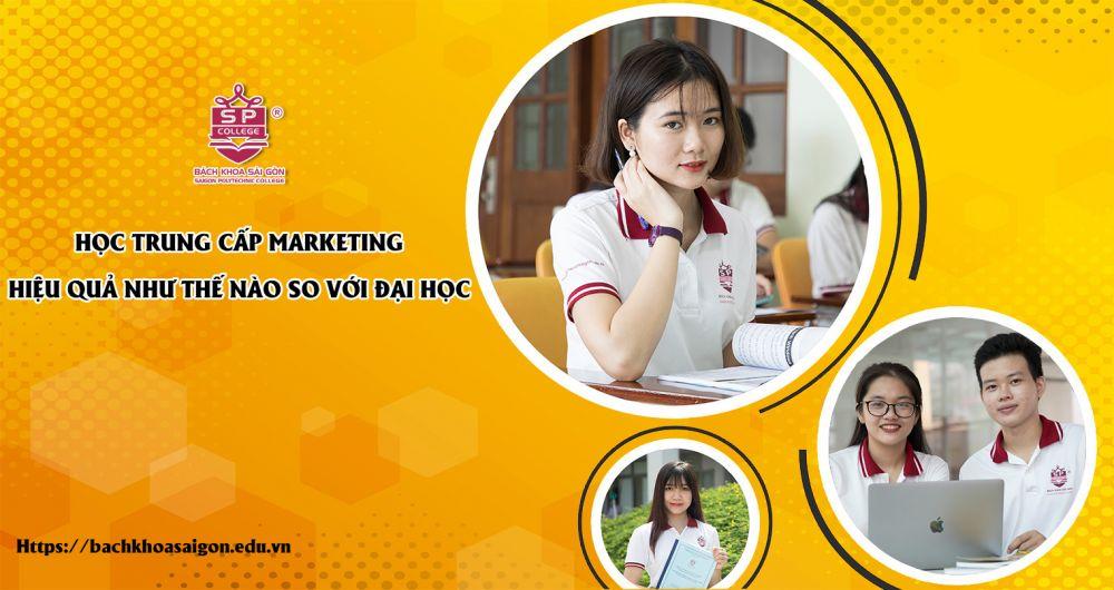 Học trung cấp Marketing hiệu quả như thế nào so với đại học