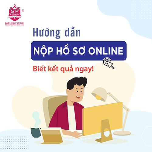 hướng dẫn nộp hồ sơ trực tuyến