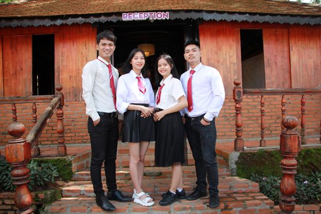 sinh viên ngành du lịch