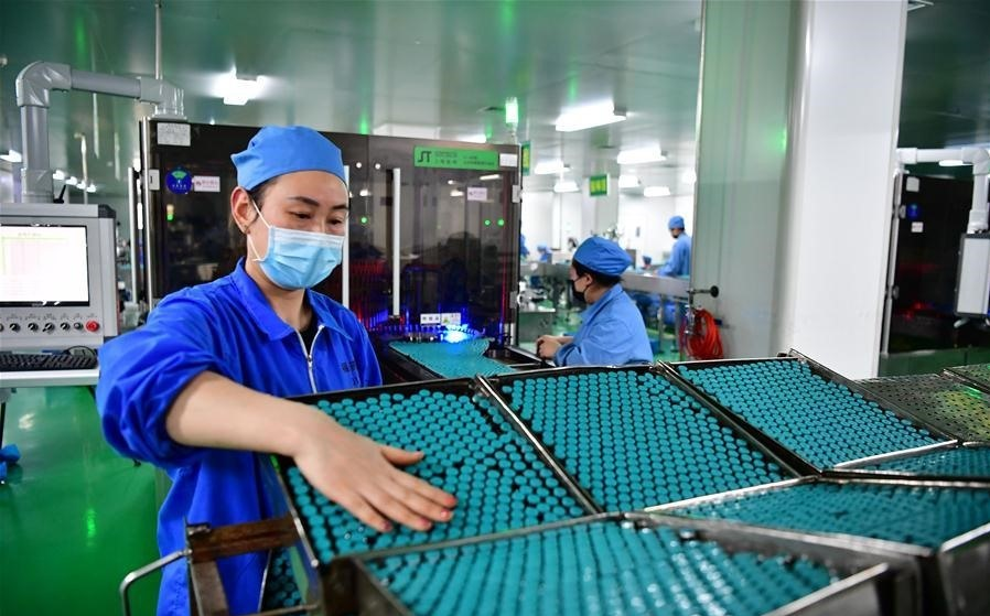 nhà máy sản xuất thuốc