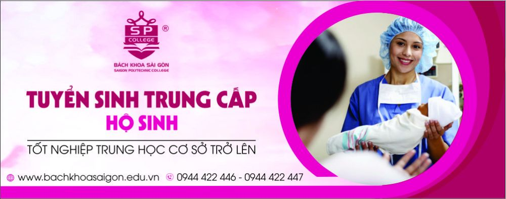 banner trung cấp hộ sinh