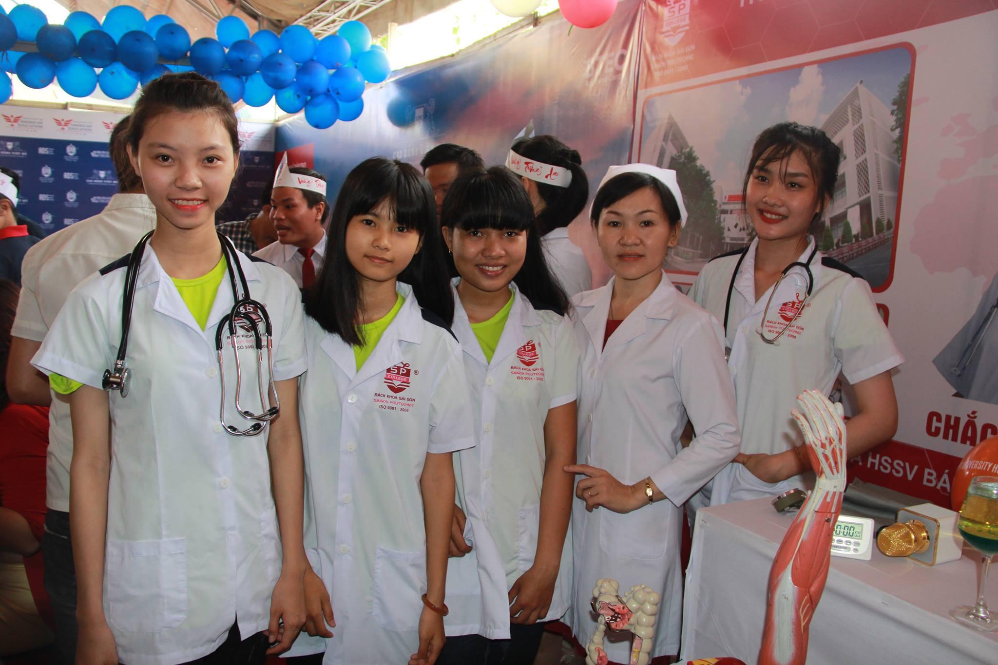 300 suất học bổng du học ngành điều dưỡng tại Nhật Bản của Trường Trung Cấp Bách Khoa Sài Gòn