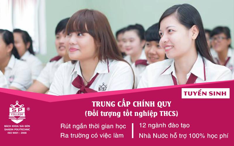 tuyển sinh trung cấp đối tượng tốt nghiệp THCS